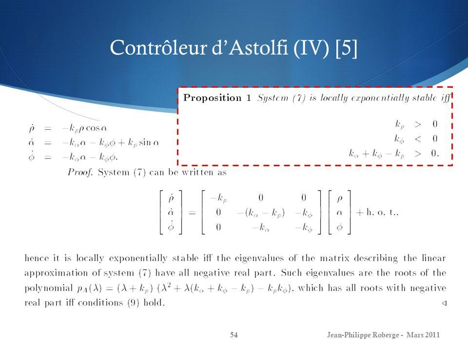 Contrôleur d'Astolfi (IV) [5]